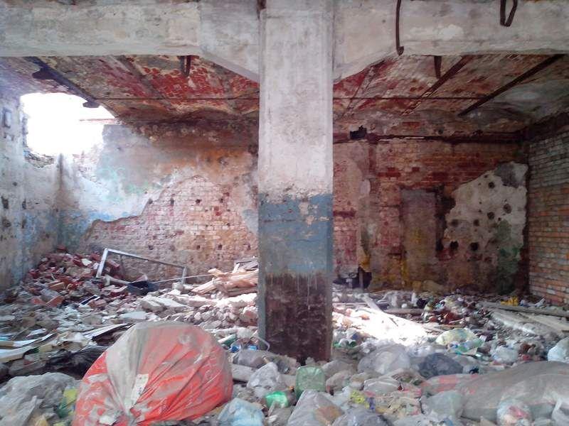Развалины изнутри